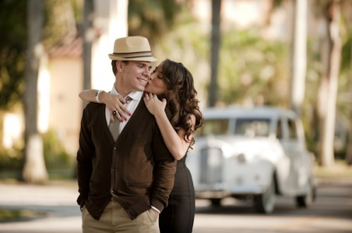Old Hollywood Glamour Engagement Session-03