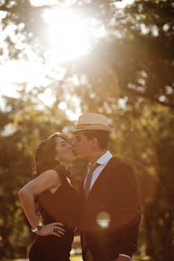 Old Hollywood Glamour Engagement Session-05