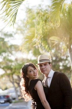 Old Hollywood Glamour Engagement Session-26