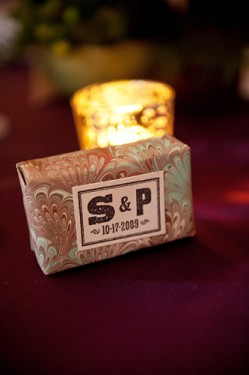 Personalized Soap Wedding Favors