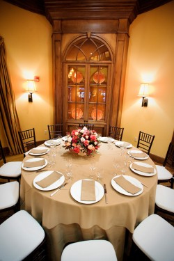 Pink and Taupe Wedding Reception