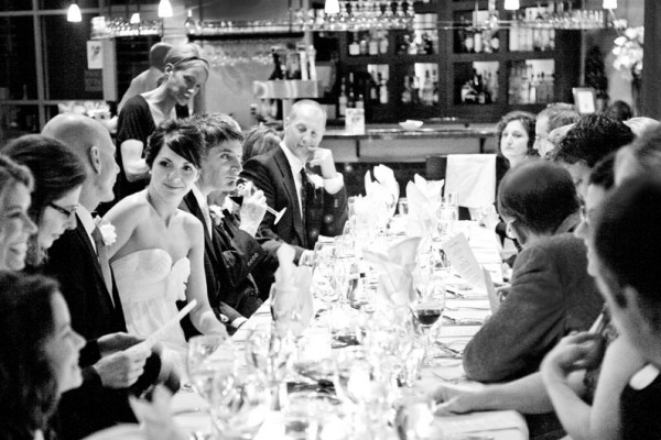 Small Restaurant Wedding