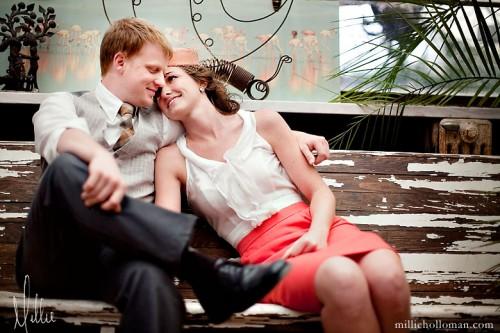 Vintage Flea Market Engagement Photos-04