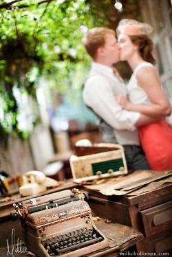 Vintage Flea Market Engagement Photos-15