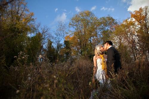 Virginia Fall Wedding Portraits