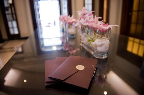 Wax Seal Closure Wedding Programs