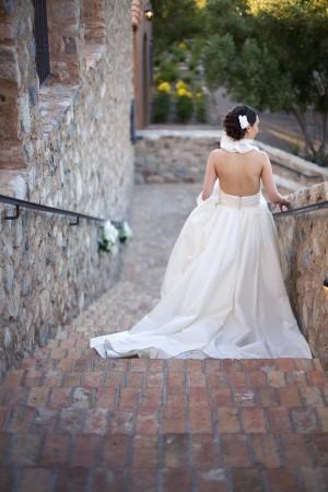 Bride-in-Amsale-Dress