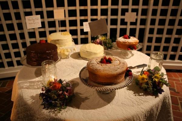 Cake Buffet Wedding Reception Elizabeth Anne Designs The Wedding Blog