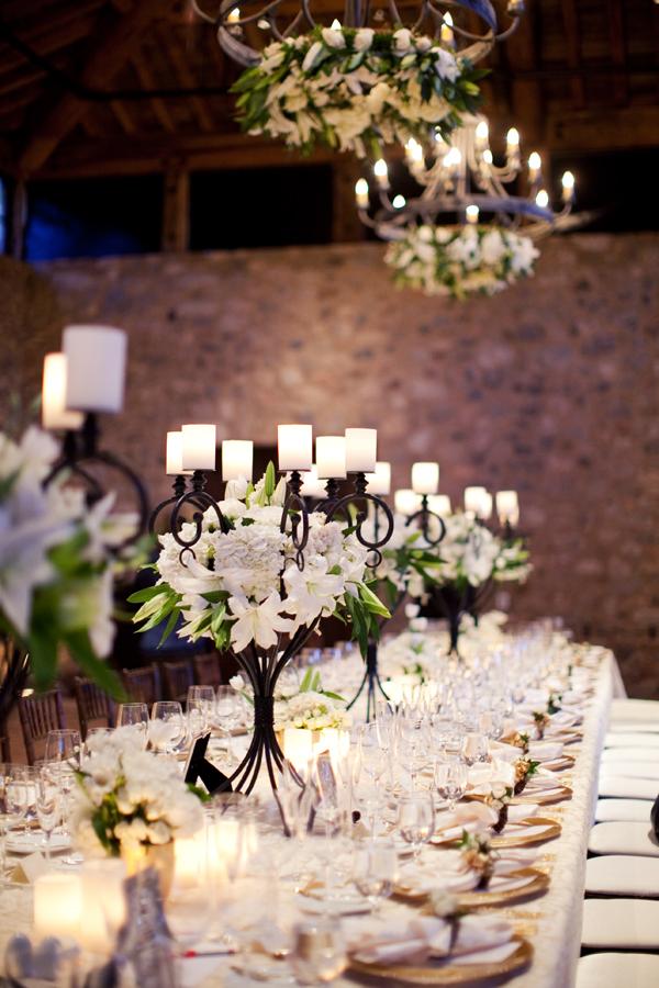 Candelabra Wedding Centerpiece Elizabeth Anne Designs The Wedding