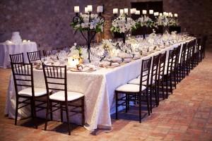 Estate Seating Wedding Reception
