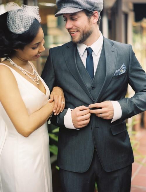 1b93af49 Groom in Newsboy Hat - Elizabeth Anne Designs: The Wedding Blog