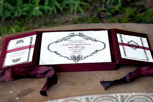 Lehr and Black Wedding Invitation Suite