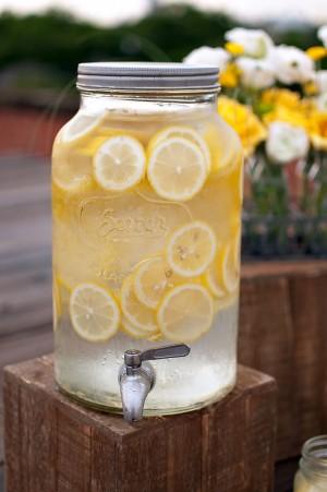 Lemonade Dispenser Picnic Ideas