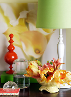 Lime Green Lamp