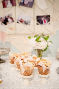 Muffin Stands Brides Suite Food Table