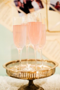 Pink Champagne Spritzers