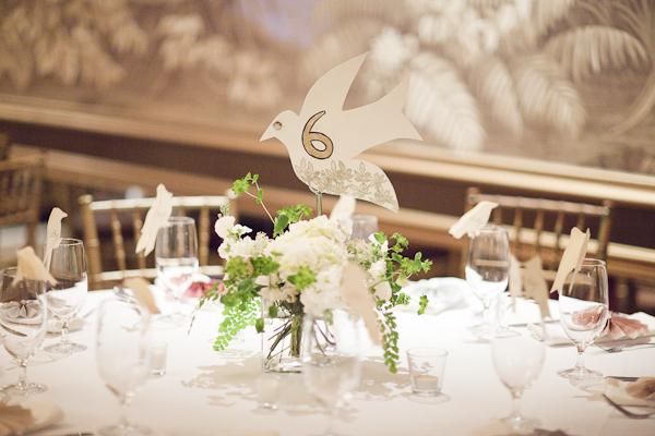 Pink Green And Gold Wedding Centerpiece Elizabeth Anne Designs