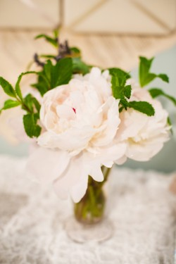 Pink Peony Flower Arrangement Poppies and Posies