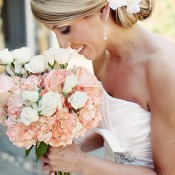 Pink-Rose-and-Hydrangea-Bouquet