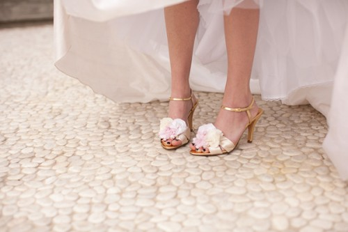 Pink-and-Gold-Ruffle-Shoes