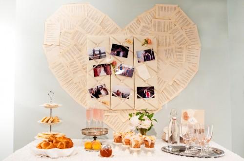 Pink and Peach Bridal Suite Food Display Ideas