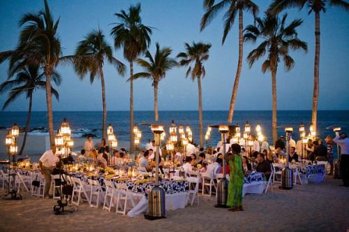 Rehearsal Dinner on the Beach