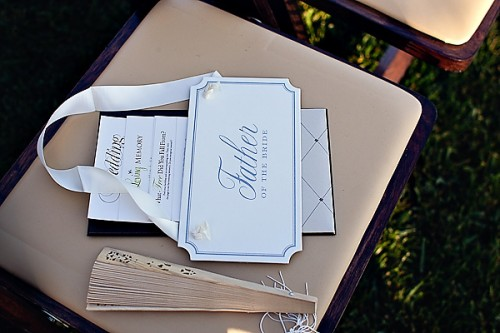 Reserved Ceremony Chair Sign