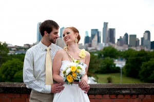 Rooftop Picnic Wedding