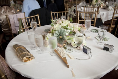 Southern Wedding Ideas Pinwheels and Fans