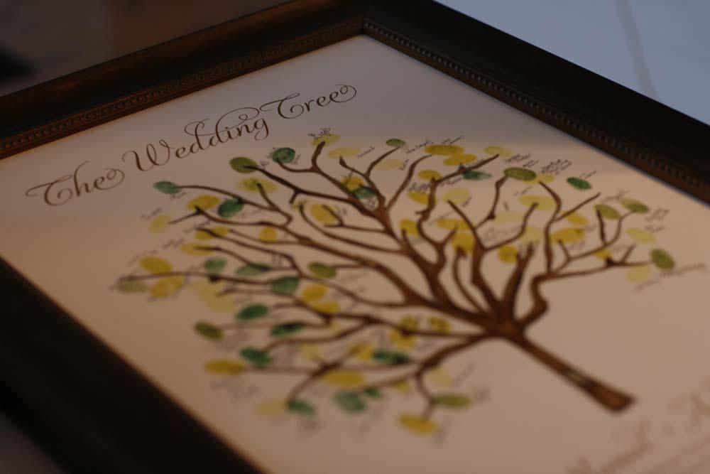 unique guest book ideas wedding tree thumbprint elizabeth anne designs the wedding blog