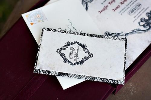 Venice-Inspired Wedding Invitation