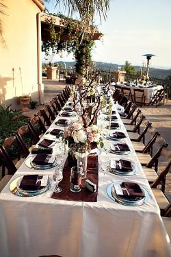 Vineyard Estate Wedding Reception