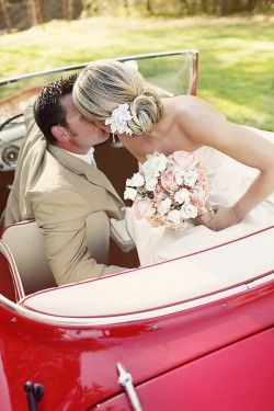 Vintage Car Wedding Portraits1