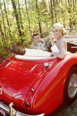 Vintage Car Wedding Portraits2