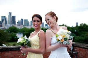 Yellow Sundress Bridesmaid