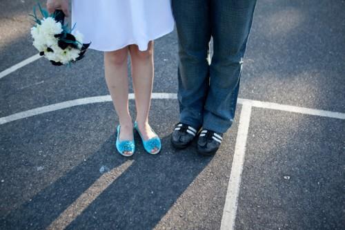 1980s High School Theme Wedding Ideas-12