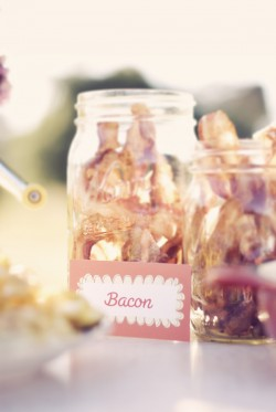 Bacon in Mason Jar