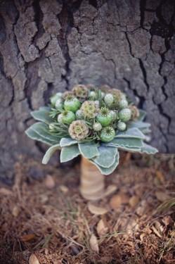 Balsa Wood Flower Bouquet