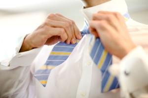 Blue Bow Tie Groom