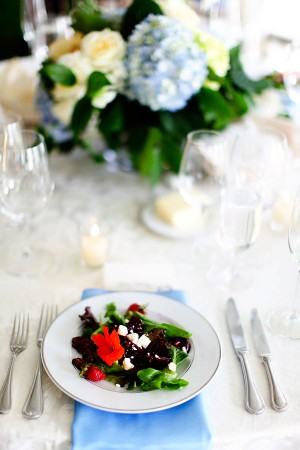 Blue and Green Spring Wedding