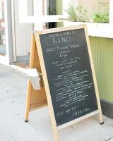 Chalkboard Restaurant Menu