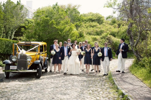 Classic Navy Bridal Party
