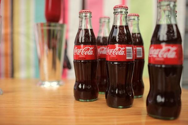 Coke Glass Bottles