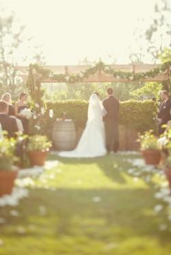 Elegant Backyard Wedding Ceremony Brandon Kidd Photography-05