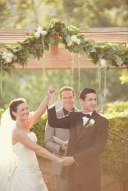 Elegant Backyard Wedding Ceremony Brandon Kidd Photography-09