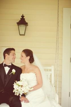 Elegant Backyard Wedding Ceremony Brandon Kidd Photography-13