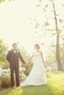 Elegant Backyard Wedding Ceremony Brandon Kidd Photography-19