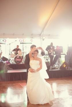 Elegant Backyard Wedding Ceremony Brandon Kidd Photography-25