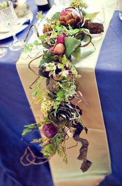 Floral Garland Centerpiece