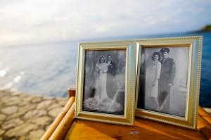 Framed Wedding Photos of Grandparents